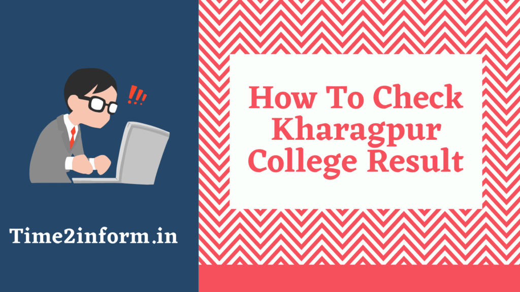 Kharagpur College Result checking