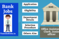 Bank Jobs 2021 –  Marvelous Details Check Now