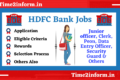 HDFC Bank Jobs 2021 – All Useful Details You Need To Check Once