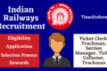 Indian Railways Recruitment 2021 – All Vacancies Details  Available Now