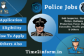 Police Jobs 2021 – Various Post Details Available Now