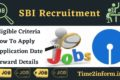 SBI Recruitment 2021 – Every Authentic Detail Present Here