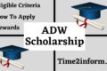 ADW Scholarship – Eligibility, Application And All Great Details In One Place