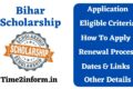 Bihar Scholarship – Know All the valuable Details Now