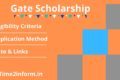 GATE Scholarship – All Important Details Are Present Here