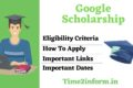 Google Scholarship – Get All the Profitable Info Now
