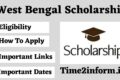 West Bengal Scholarship – All important Details – Check now