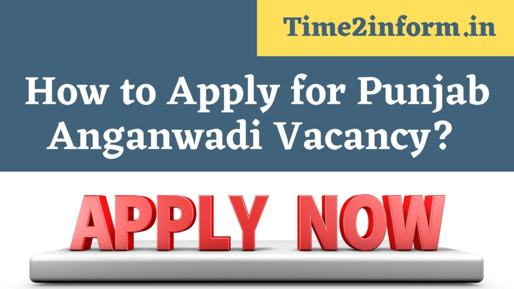 How to Apply for Rajasthan Anganwadi Vacancy